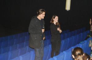 Nach der Vorstellung von DIE KLEINE HEXE war Drehbuchautor Matthias Pacht im CineStar Treptower Park zu Gast.