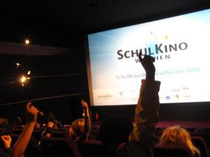 Beim Filmgespräch zu UNSERE ERDE 2 im Kino in der Kulturbrauerei.