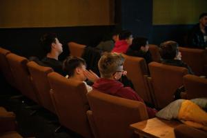 Schüler*innen bei der Veranstaltung zum Film IM NIEMANDSLAND