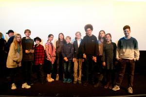 """Die FBW-Jugend-Filmjury Berlin, die in diesem Jahr den Drehbuchpreis """"Kindertiger"""" vergeben hat."""