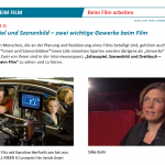 Film- und Medienberufe im Unterricht