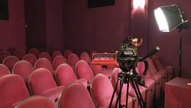 Dreh im Kino moviemento (c) SKW