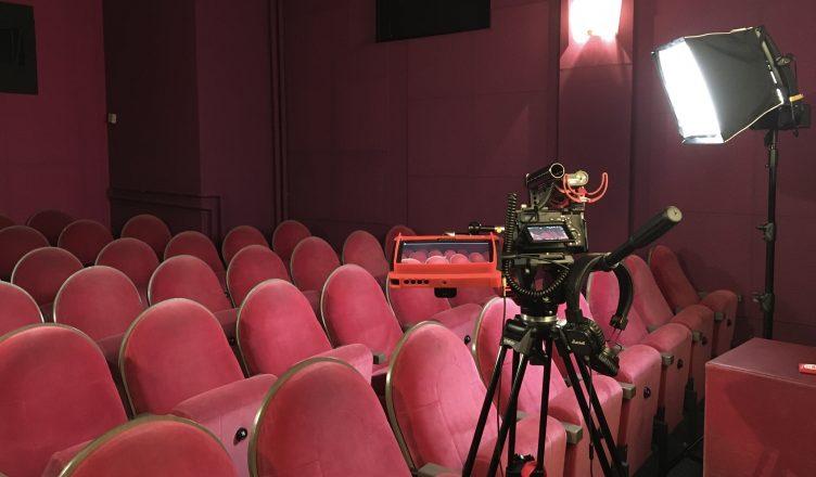 Dreh im Kino moviemento (c) SKW Berlin