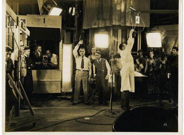 Der Schuss im Tonfilmatelier (c) Deutsche Kinemathek